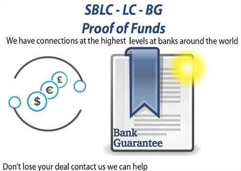 ProjectBusiness FinancingBG-SBLC-MT760Credit-LoanMonetizingMT799Eurobonds